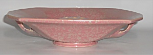 Roseville Art Pottery Tuscany Twin Handle Console Bowl