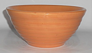Bauer Pottery Ring Ware #18 Ring Pumpkin Mixing Bowl (Image1)