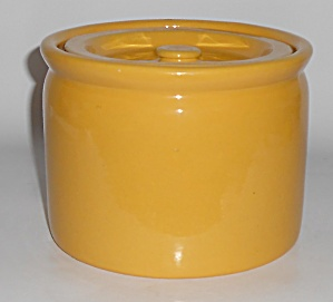 Bauer Pottery Plain Ware Yellow #2 Spice Jar
