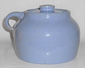 Bauer Pottery Plain Ware Delphinium 2 Quart Bean Pot (Image1)