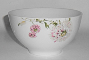 Mikasa Porcelain China Silk Floral Pink Soup/cereal B