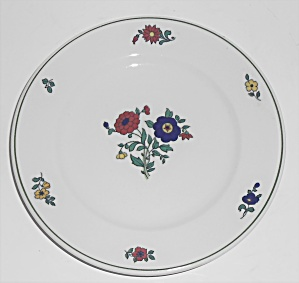Bailey Walker Restaurant China Floral Bread Plate