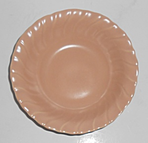 Franciscan Pottery Coronado Satin Coral Cereal Bowl