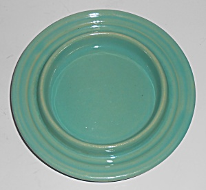 Bauer Pottery Ring Ware Jade Butter Dish Base