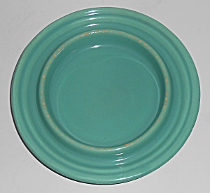 Bauer Pottery Ring Ware Jade Butter Dish Base  (Image1)