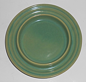 Bauer Pottery Early Ring Ware Jade Butter Dish Base  (Image1)