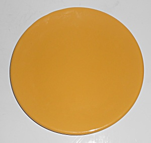 Bauer Pottery Plain Ware Yellow Salad Plate