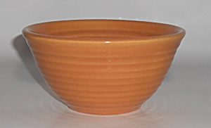Bauer Pottery Ring Ware Pumpkin #36 Mixing Bowl