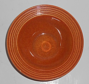 Bauer Pottery Monterey Red/brown Large Fruit Bowl