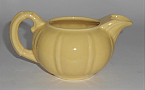 Franciscan Pottery Sunkist Yellow Creamer (Image1)