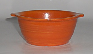 Pacific Pottery Hostess Ware Apache Red Baker