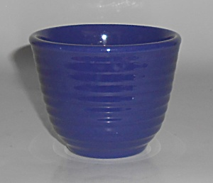 Franciscan Pottery Kitchen Ware Cobalt Custard Cup (Image1)