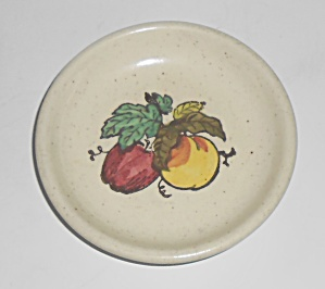 Metlox Poppy Trail Pottery Provincial Fruit Coaster (Image1)