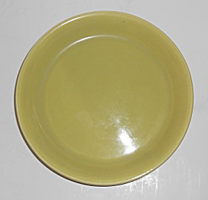 Bauer Pottery #5 Chartreuse Spanish Flower Pot Saucer