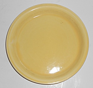 Bauer Pottery #6 Yellow Spanish Flower Pot Saucer (Image1)