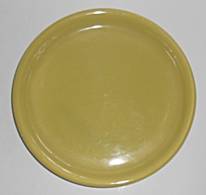 Bauer Pottery #7 Chartreuse Spanish Flower Pot Saucer
