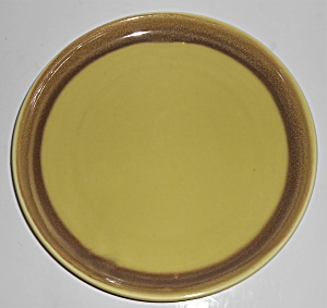 Bauer Pottery Mission Moderne Chartresue Dinner Plate