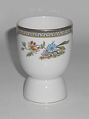 Noritake China Porcelain Modesta Double Eggcup
