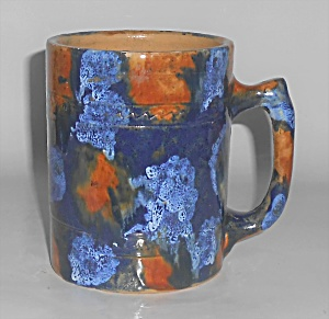 Pacific Pottery Early Drip Glaze Beer Mug