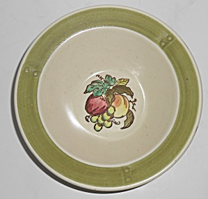 Metlox Poppy Trail Pottery Provincial Fruit Cereal Bowl (Image1)