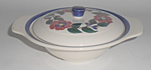Vernon Kilns Pottery Gale Turnbull Hand Decorated 837 L