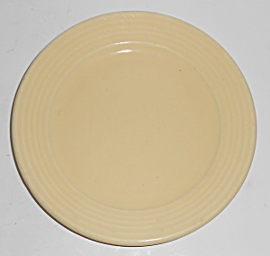 Bauer Pottery Monterey Ring Ivory Bread Plate