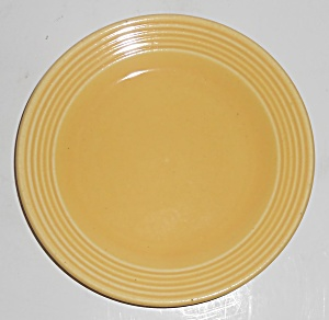 Bauer Pottery Monterey Ring Yellow Bread Plate
