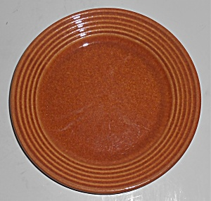 Bauer Pottery Monterey Ring Red/brown Bread Plate