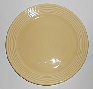 Bauer Pottery Monterey Ring Ivory 9-3/8'' Plate
