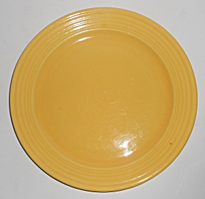 Bauer Pottery Monterey Ring Yellow 9-3/4'' Plate