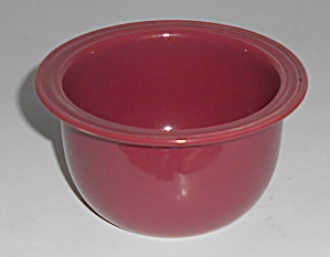 Coors Pottery Rock-Mount Red Custard Cup (Image1)