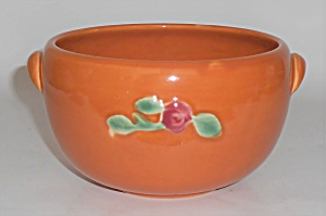 Coors Pottery Rosebud Orange Small Pudding Bowl (Image1)