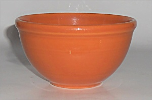 Coors Pottery Rosebud Orange 5'' Mixing Bowl Robert Sch