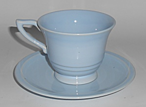 Franciscan Pottery Montecito Gloss Lt Blue Cup & Saucer (Image1)