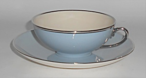 Franciscan Pottery Fine China Twilight Cup & Saucer Set