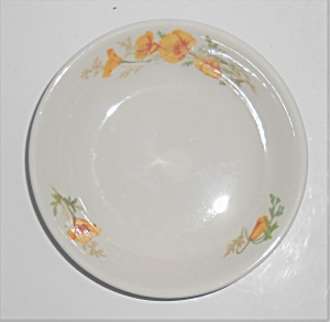 Syracuse China California Poppy Fruit Bowl