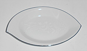 Noritake Porcelain China 6450q Reina W/platinum Ashtray