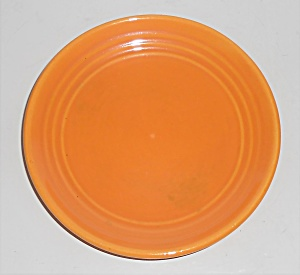 Bauer Pottery Ring Ware Very Rare Papaya Bread Plate