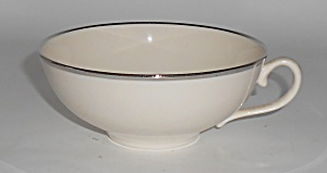 Franciscan Pottery Fine China Wide Band Platinum Cup