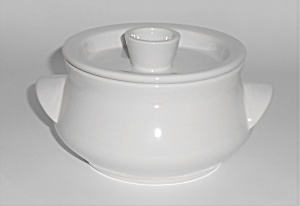 Franciscan Pottery Flair White Individual Casserole (Image1)