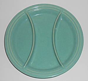 Pacific Pottery Hostess Ware #603 Green Relish Tray