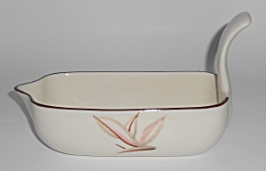 Winfield China Pottery Dragon Flower Gravy Bowl