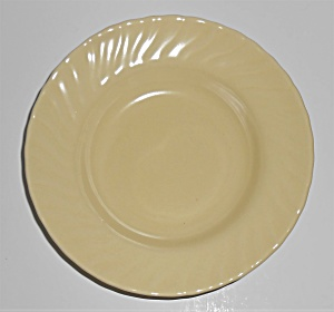 Franciscan Pottery Coronado Satin Yellow Fruit Bowl  (Image1)
