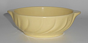 Franciscan Pottery Coronado Satin Yellow Onion Soup Bow