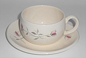 Franciscan Pottery Duet Cup & Saucer Set (Image1)