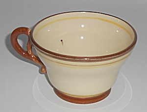 Franciscan Pottery Early Padua Cup  (Image1)