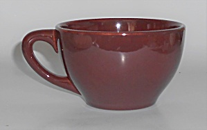 Franciscan Pottery Catalina Rancho Red/brown Cup/sand S