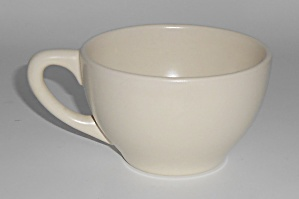Franciscan Pottery Catalina Rancho Satin Ivory Cup