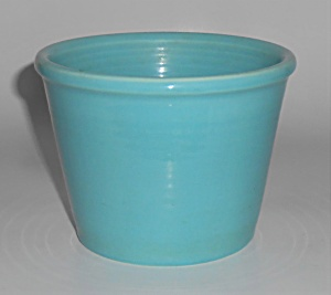 Franciscan Tropico Art Ware Gloss Turquoise Rolled Rim