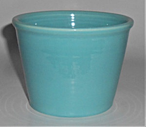 Franciscan Tropico Pottery Art Ware Turquoise Rolled Ri